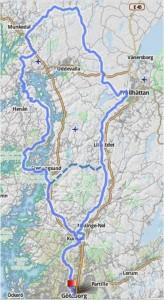 västkusten runt karta