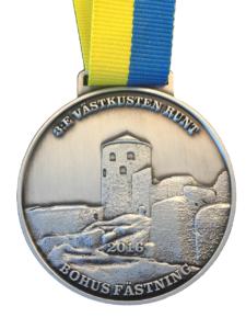 medalj bohus fästning