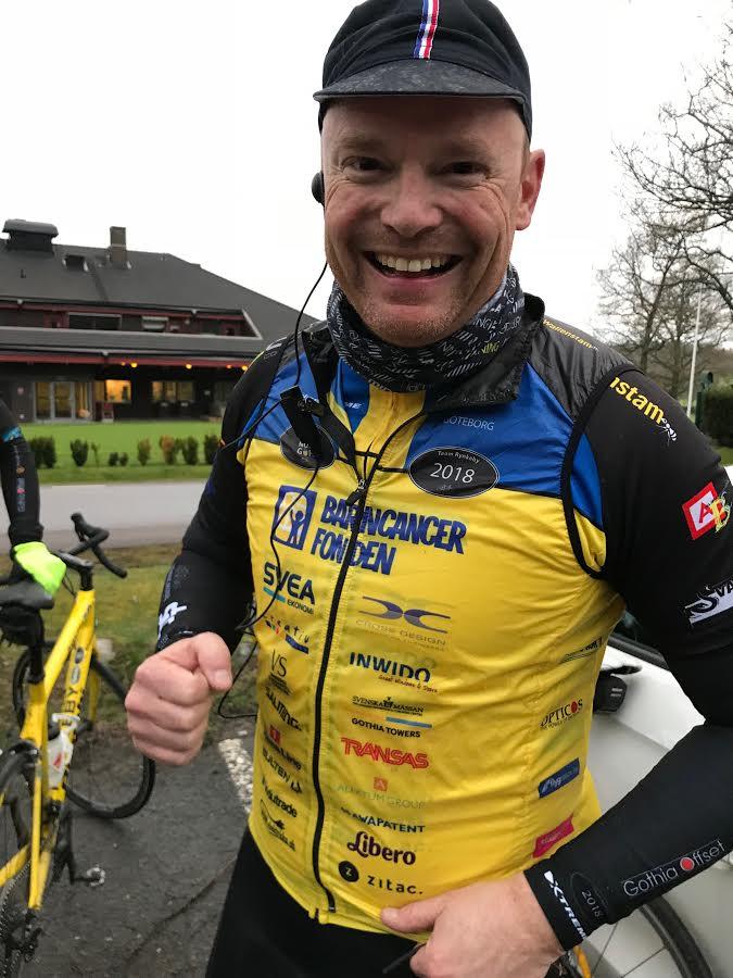Michael Alphov, kapten i Team Rynkeby – God Morgon Göteborg